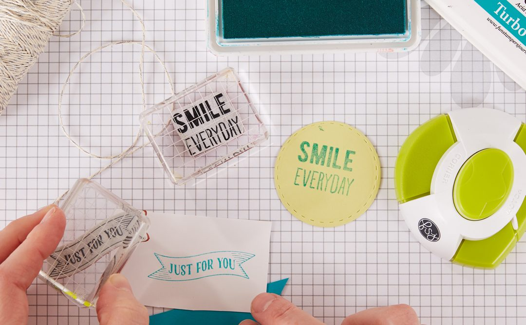 How to Use the Gel Press with Stamps and Ink