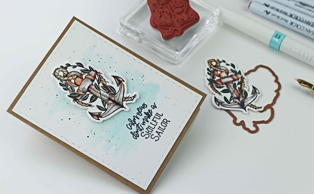 Inked Messages Inspiration | Skillful Sailor Cards with Bibi Cameron