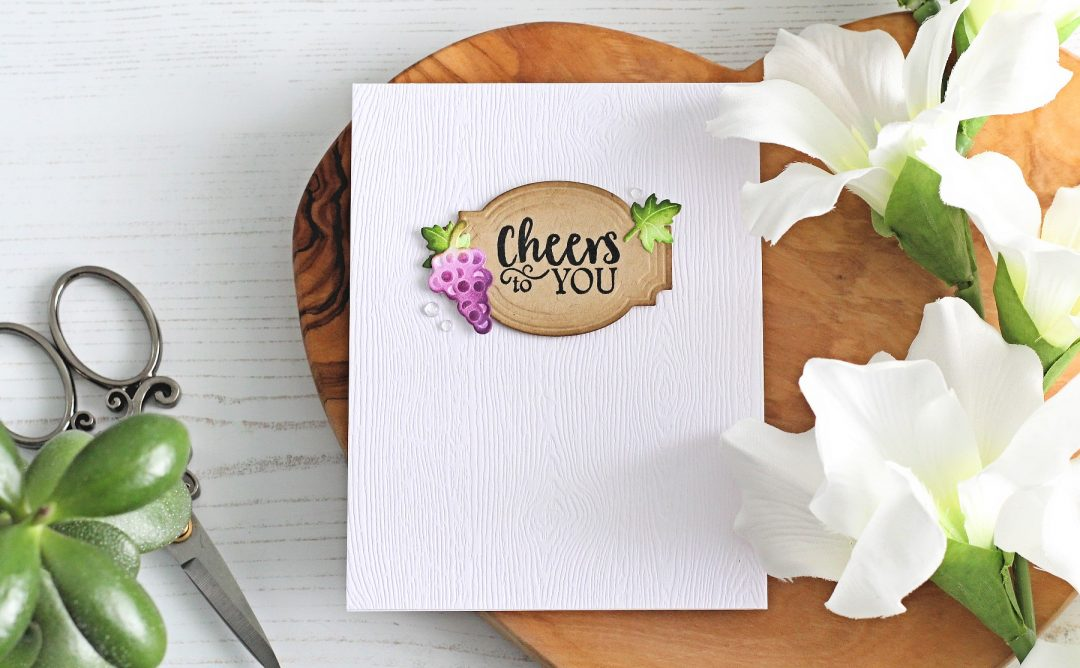 Wine Country Inspiration | Clean & Simple Cards with Michelle Short