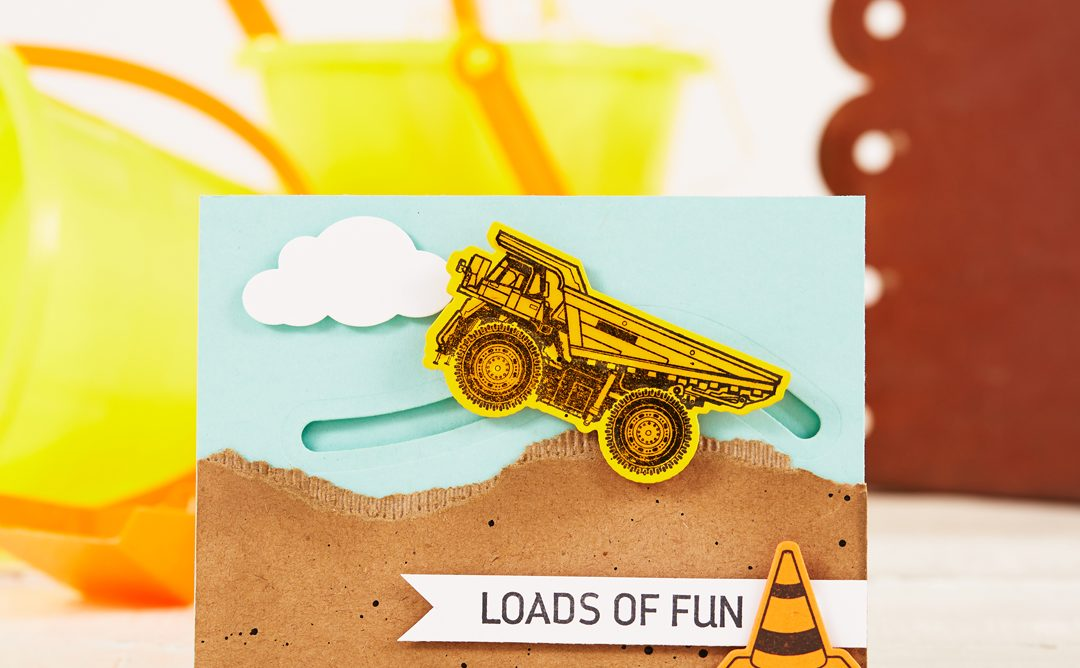 How to Make an Interactive Dump Truck Card