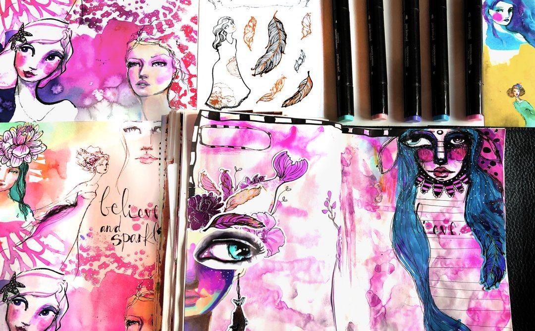 Jane Davenport Artomology | Journal Girls with Courtney Diaz