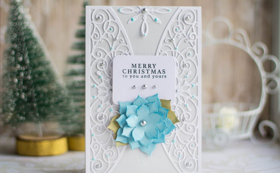 A Charming Christmas Inspiration | Merry Christmas Card with Elena Salo