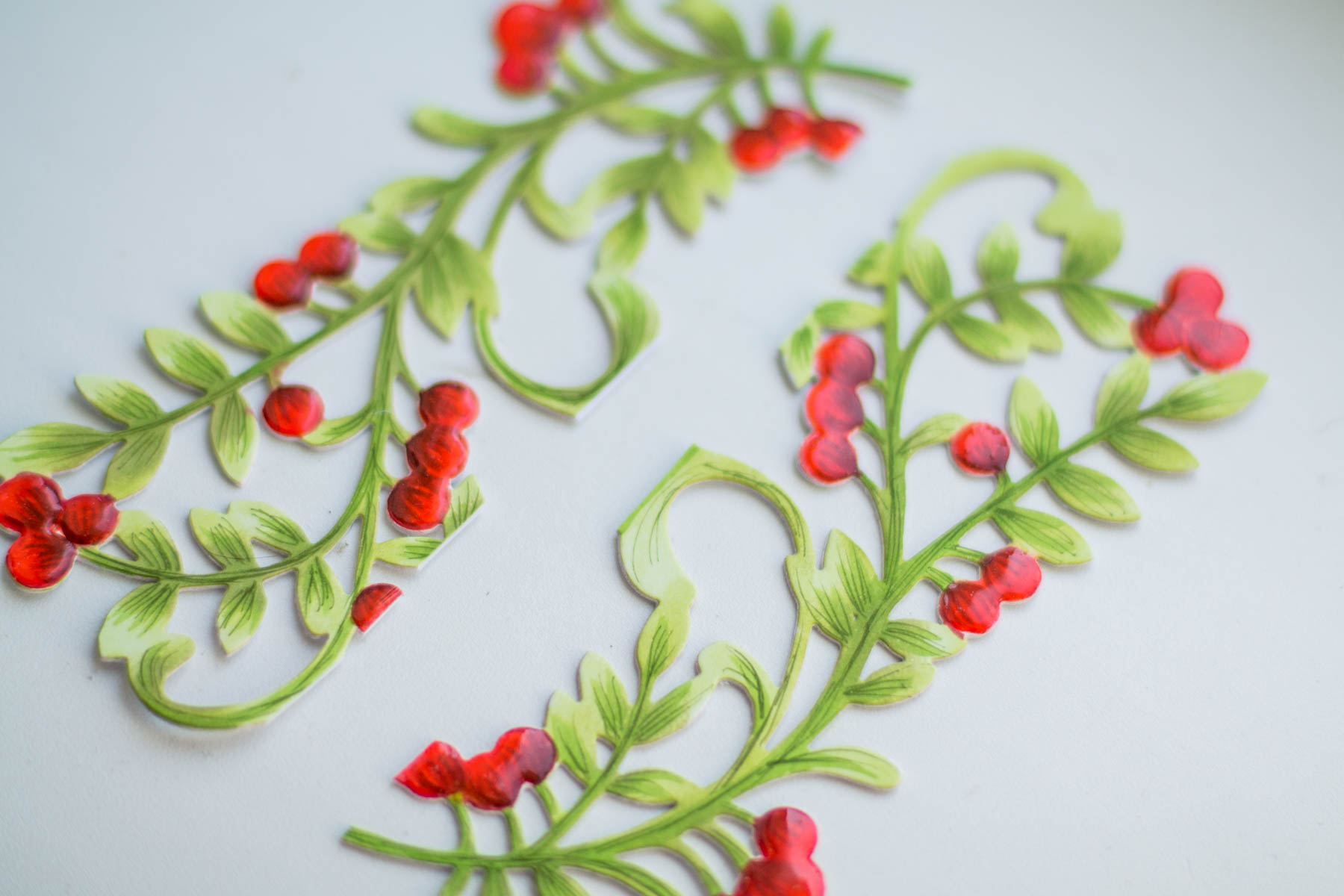 A Sweet Christmas Inspiration   Die Cut & Colored Christmas Card ...