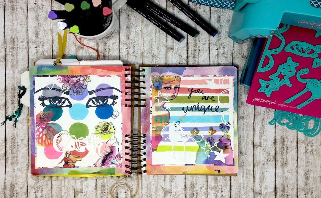 Jane Davenport Artomology | Journaling with Artomology Collection with Angela Tombari