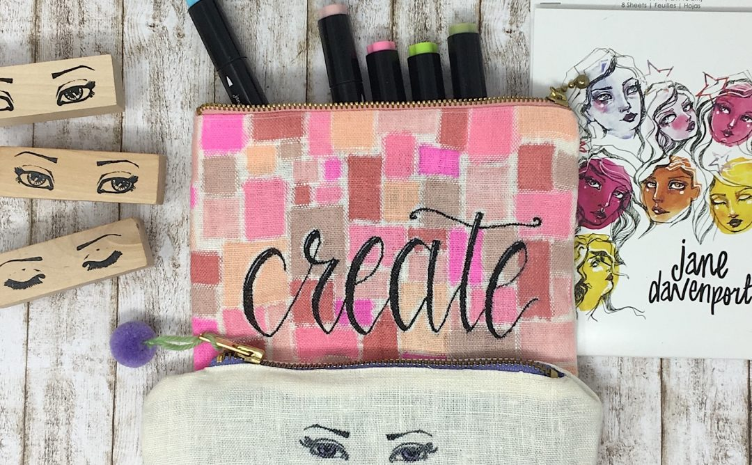 Spellbinders Jane Davenport Artomology | Crafting with Jane Davenport Markers with Angela Tombari #janedavenport #janedavenportartomology #Artomology #spellbinders #neverstopmaking #smoothmarkers #makeitwithmichaels