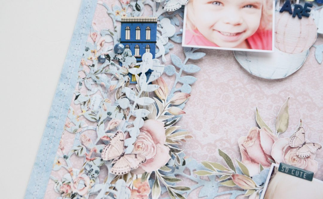 A Sweet Christmas Inspiration | Lovely Layers Layout with Anna