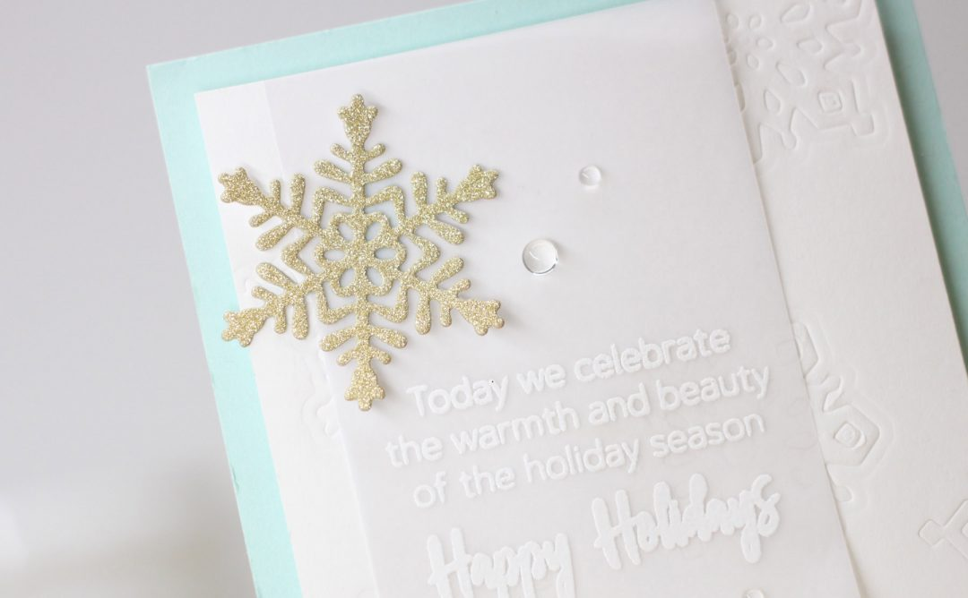 Die D-Lites Holiday Inspiration | Jumping into Christmas Cards with Laurie Willison