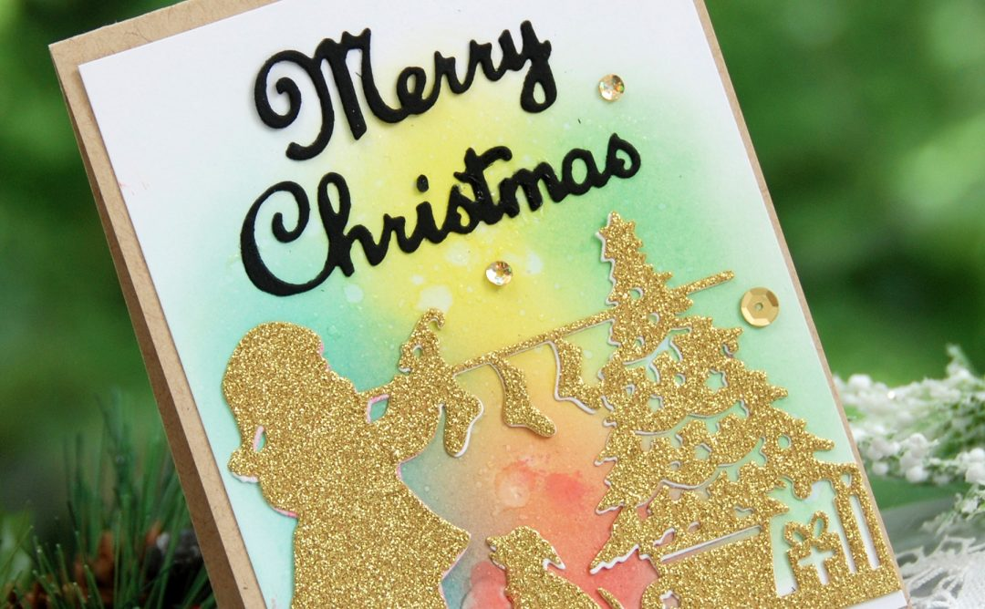 A Sweet Christmas Inspiration | Merry Christmas Card with Virginia