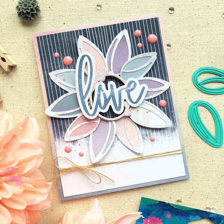 Spellbinders Jane Davenport Artomology | Cardmaking with Sunflower Journal Dies with Enza Gudor featuring JD-031 Deep Sea Die Cutting and Embossing Machine, JDD-039 Sunflower Journal #janedavenport #janedavenportartomology #Artomology #spellbinders #neverstopmaking #makeitwithmichaels