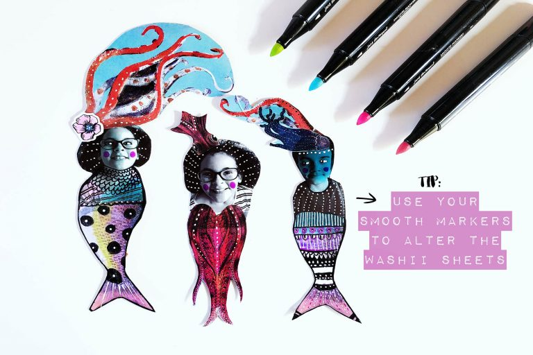 Spellbinders Jane Davenport Artomology | Fishy Friends with Courtney Diaz #janedavenport #janedavenportartomology #Artomology #spellbinders #neverstopmaking #smoothmarkers #makeitwithmichaels #washisheets