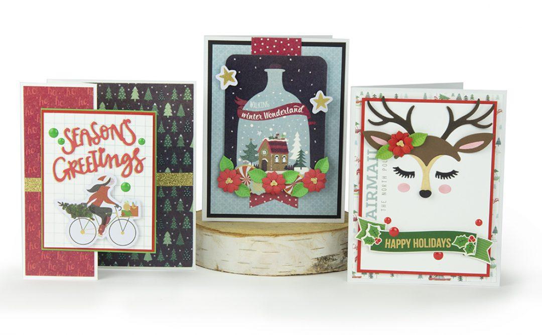 """November 2018 Card Kit of the Month is Here – """"Deer"""" Santa!"""