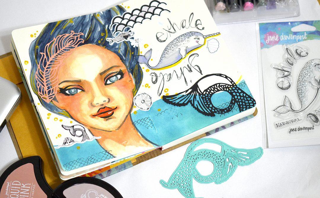Jane Davenport Artomology | Mixed Media Inspiration with Mayline