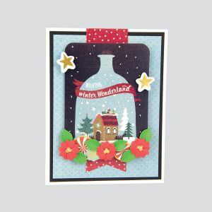 "Spellbinders November 2018 Card Kit of the Month is Here – ""Deer"" Santa!"