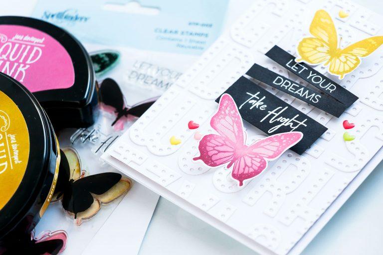 Spellbinders NEW Clear Stamps | Let Your Dreams Take Flight Card #spellbinders #neverstopmakingSpellbinders NEW Clear Stamps | Let Your Dreams Take Flight Card #spellbinders #neverstopmaking