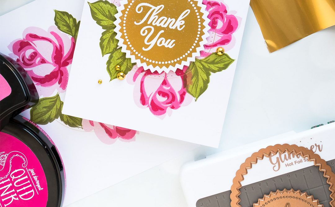 Glimmer Hot Foil System | Stamping & Hot Foil – Easy Thank You Cards