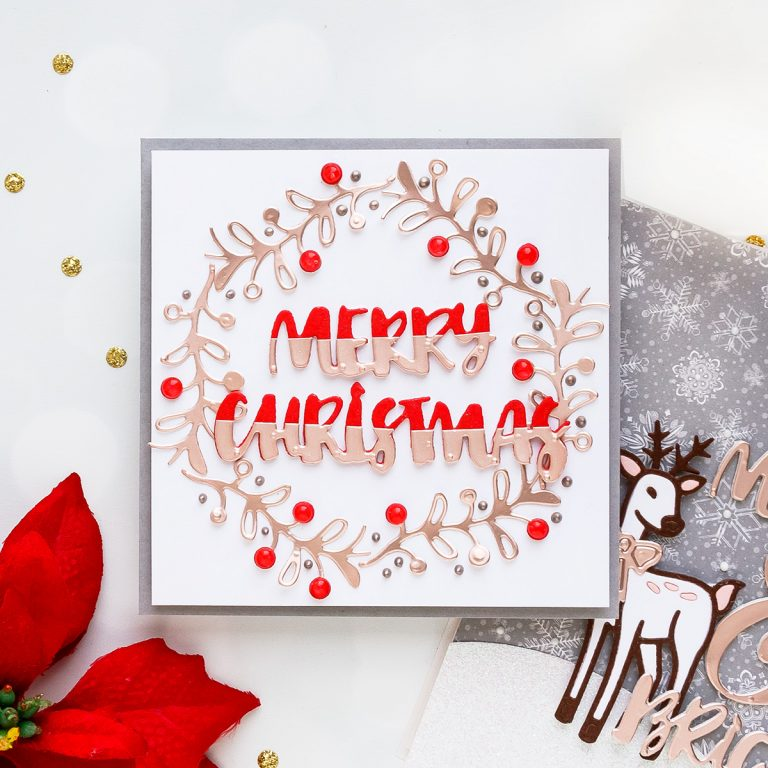 Spellbinders November Small Die of the Month is Here – Holiday Greetings!