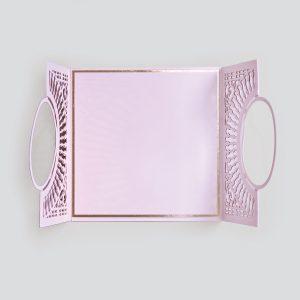 Spellbinders December Amazing Paper Grace Die of the Month is Here – Softly Spoke'n Flip and Gatefold Card. Believe in Yourself Handmade Card. Step 4