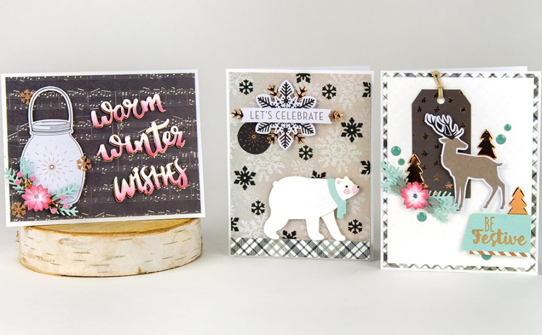December 2018 Card Kit of the Month is Here – Winter Wishes!