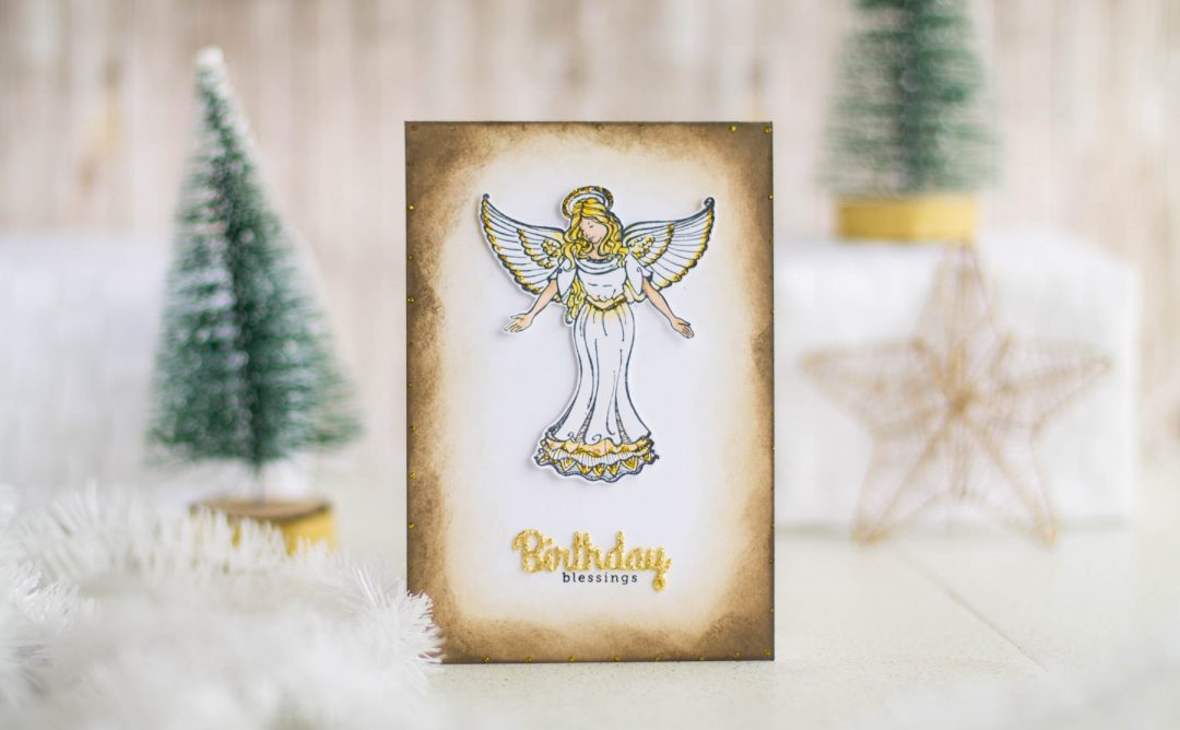 Zenspired Holidays Inspiration | Birthday Blessings Card