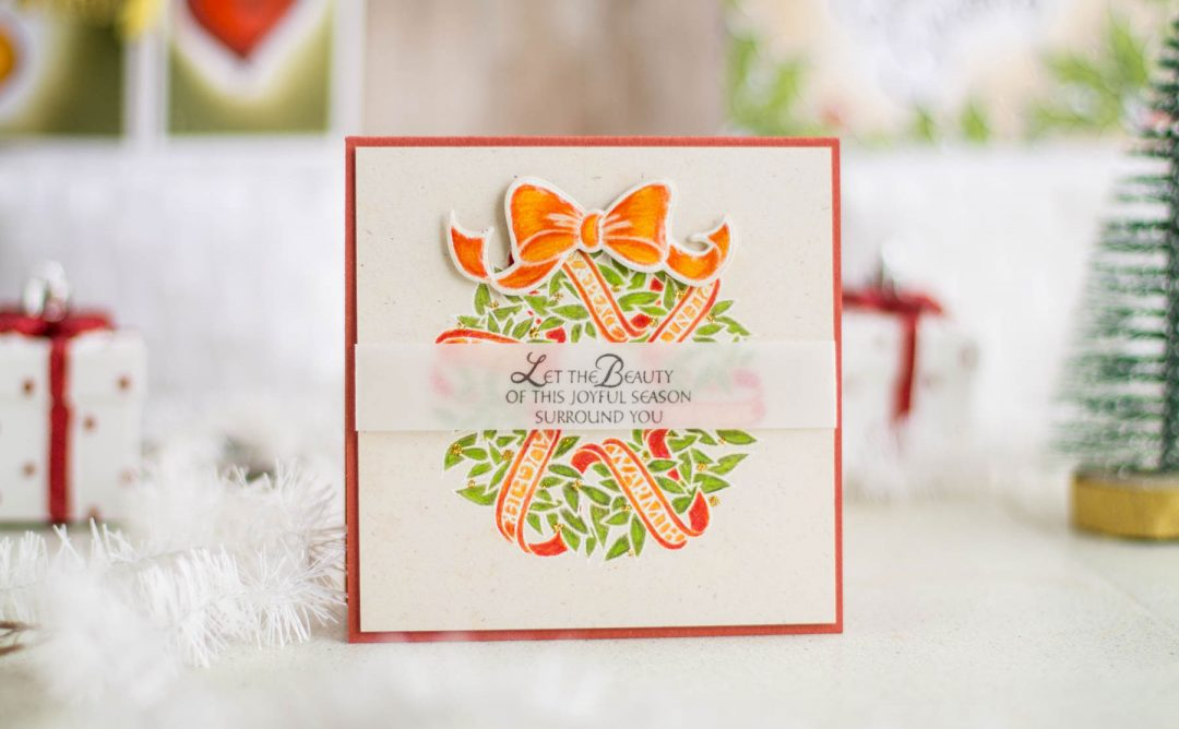 Zenspired Holidays Inspiration | Joyful Season Christmas Card
