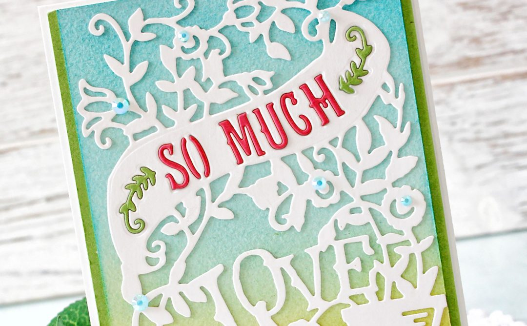 Great, Big, Wonderful World Inspiration | Love Cards with Melody