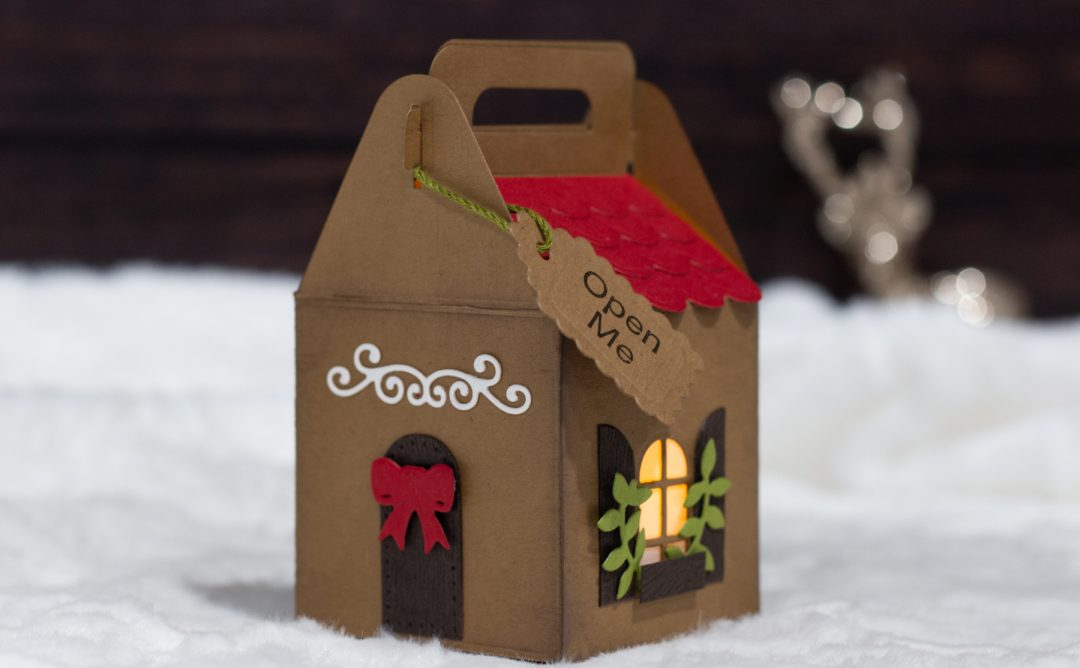 Video: Gingerbread House Gift Box with Koren