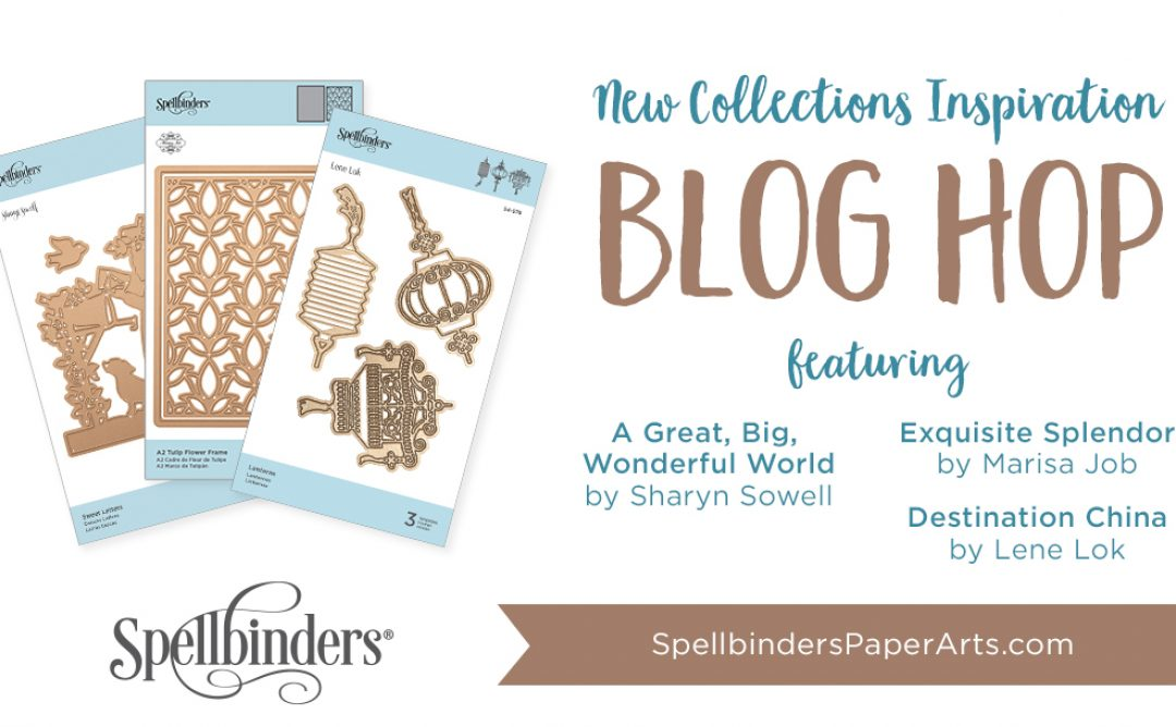 Spellbinders December 2018 Release. Blog Hop + Giveaway (Now Closed)