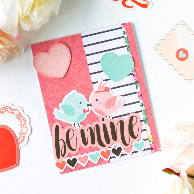 Card Club Kit Extras! January 2019 Edition - Be Mine Card by Laura Volpes