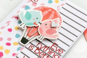 Spellbinders Card Club Kit Extras! January 2019 Edition - Everything is Better with you by my side card.