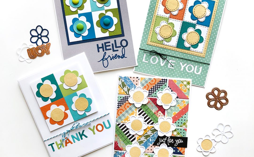 Exquisite Splendor Inspiration   Patterned Paper Cards with Norine