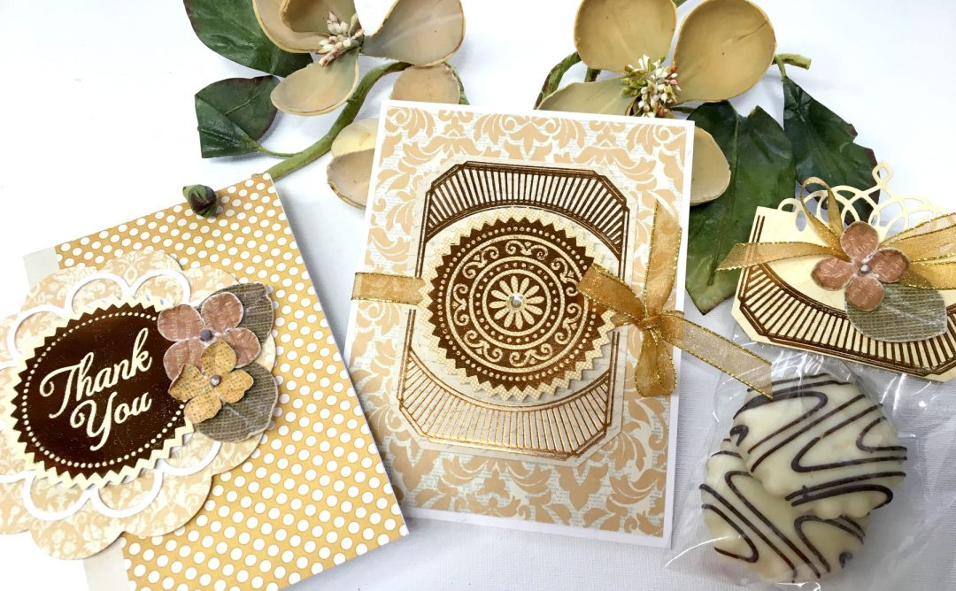 Video: Glorious Glimmer Inspiration | Thank You & Just Because Foiled Projects with Tina Smith