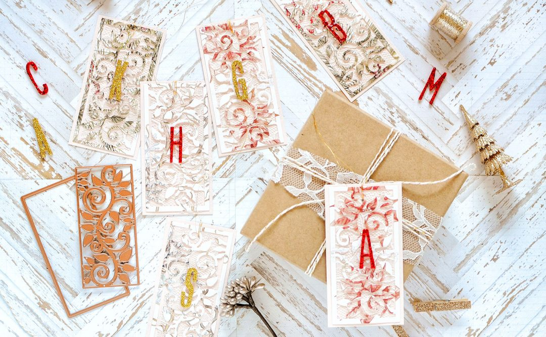Exquisite Splendor Inspiration | Holiday Tags and Cards with Rebecca