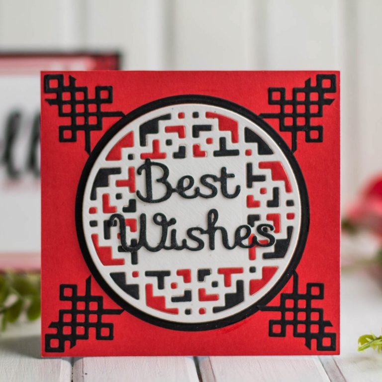Destination China collection by Lene Lok - Inspiration | Colorful Cards by Elena Salo for Spellbinders