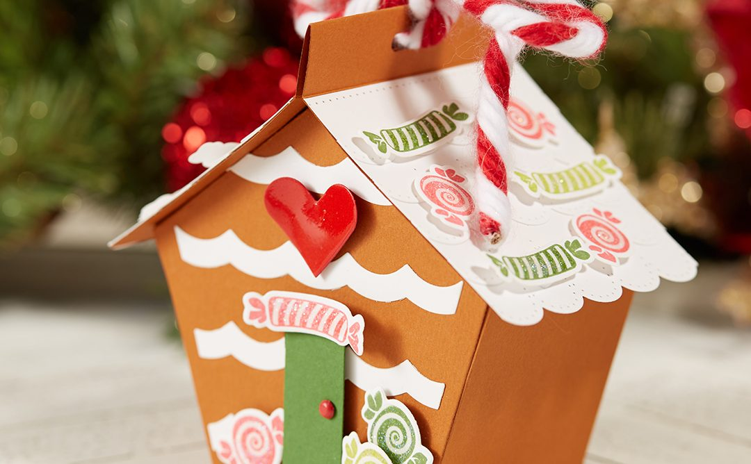 Make a Gingerbread Treat Box for Christmas