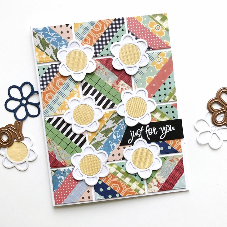 Exquisite Splendor collection by Marisa Job - Inspiration | Patterned Paper Cards by Norine Borys for Spellbinders