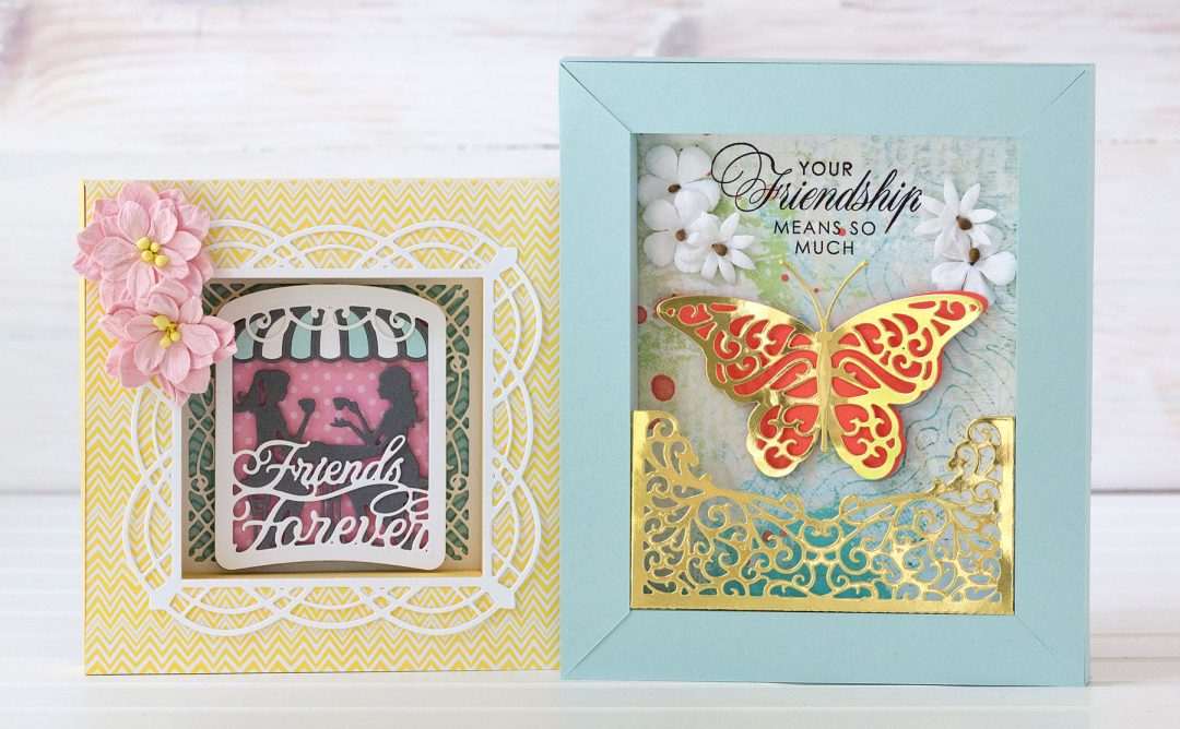 Shadowbox Collection Inspiration | Colorful Shadowboxes with Jean