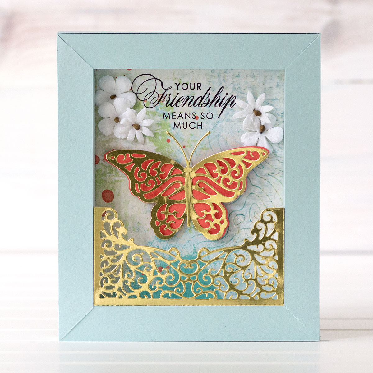 Shadowbox Collection Inspiration | Colorful Shadowboxes with
