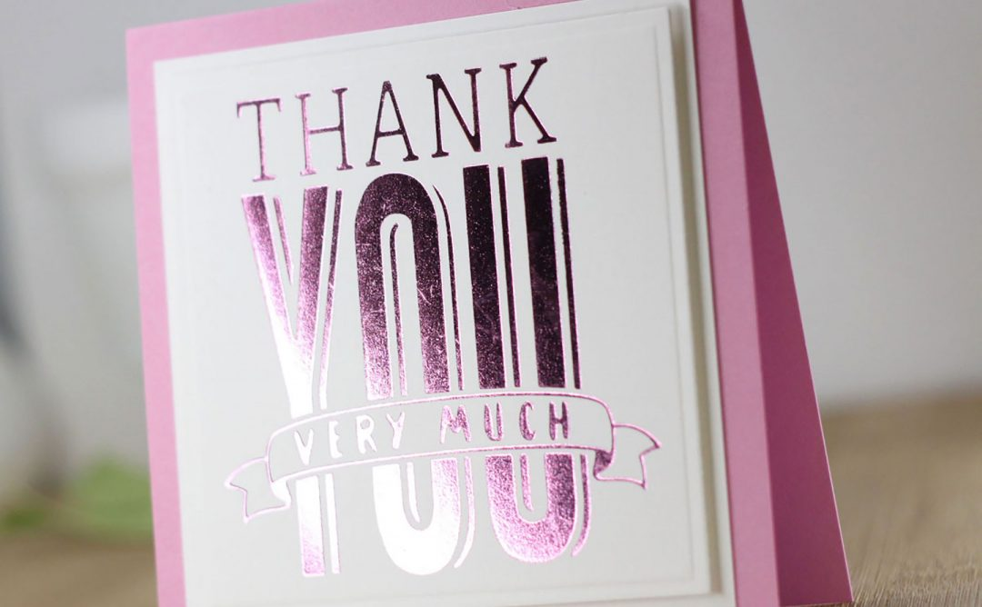 Glimmer Hot Foil Inspiration | Clean & Simple Foiled Cards with Laurie Willison