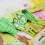 Spellbinders Glimmer Plates Inspiration | Cacti Layout with Anna Komenda