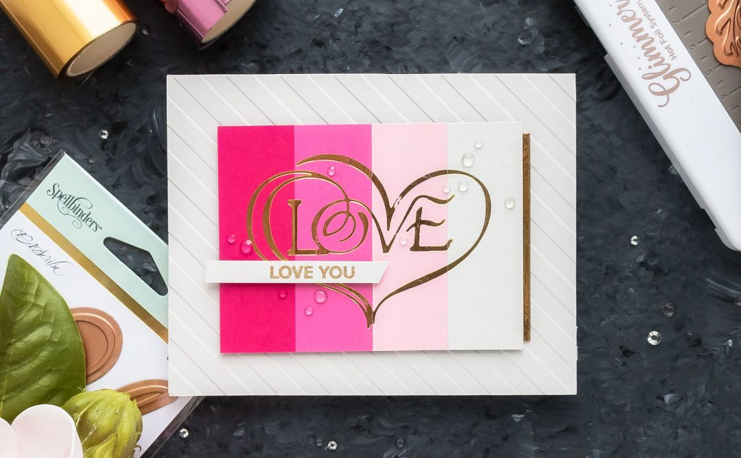 Video: Valentine's Day Cards & Tags with Paul Antonio Glimmer Plates