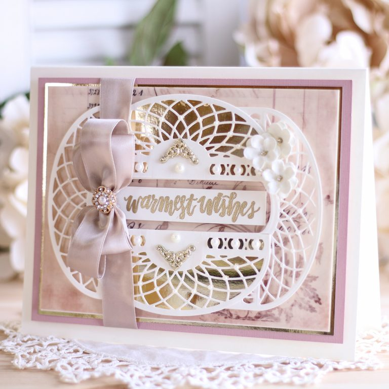 Spellbinders March 2019 Amazing Paper Grace Die of the Month is Here – Elegant Swivel and Sashay Card