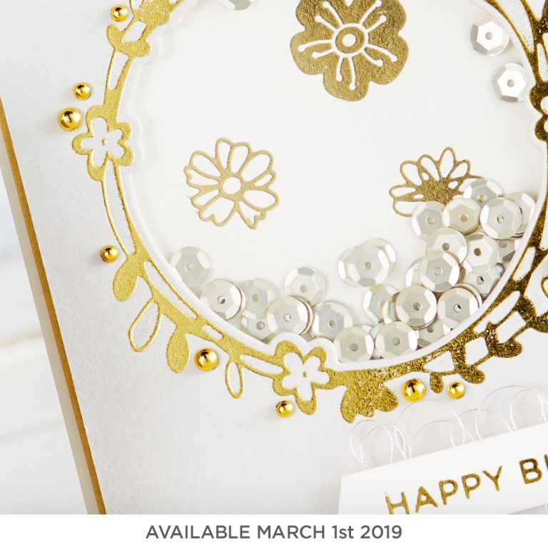 Glimmer Hot Foil Kit of the Month (available March 1st, 2019)