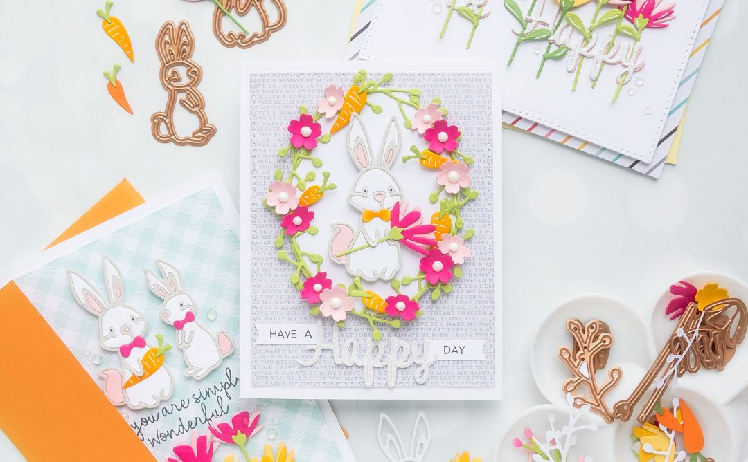 March 2019 Small Die of the Month is Here – Hop Into Spring
