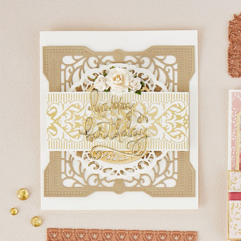 Spellbinders The Gilded Age Die & Glimmer Plate Collection Introduction by Becca Feeken