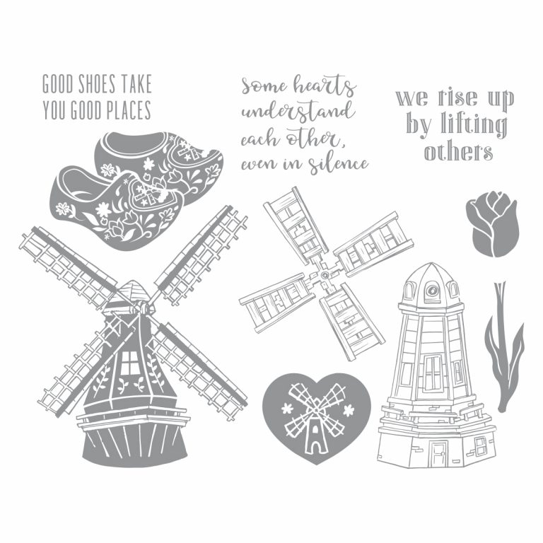 Fun Stampers Journey March 2019 Stamp of the Month is Here - Good Places