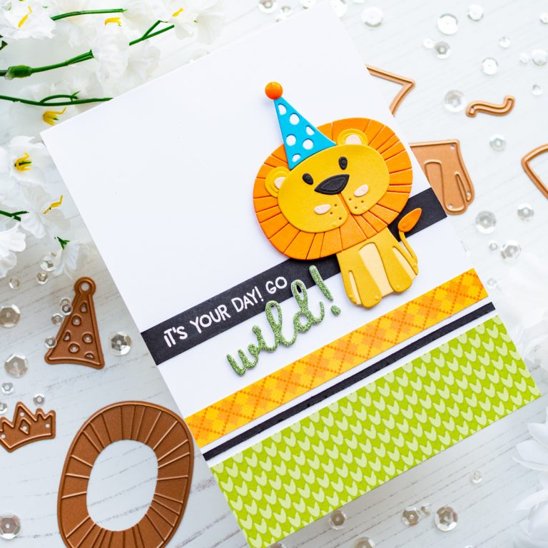 Spellbinders Die D-Lites Inspiration | Playful Critter Cards with Gemma