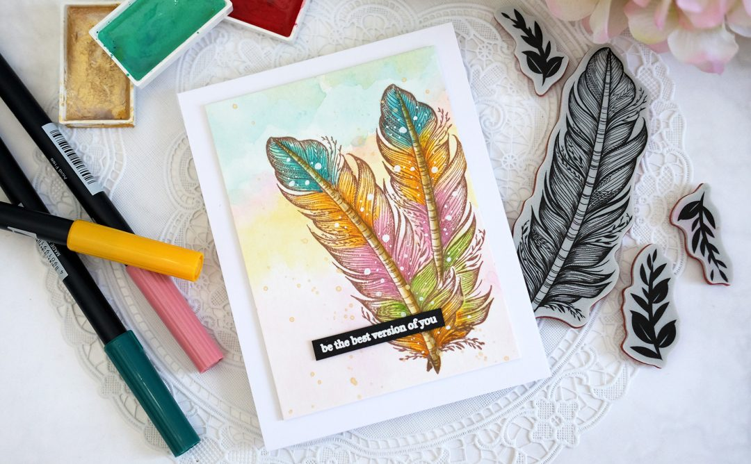Just Add Color Inspiration | Clean & Simple Stamped Cards with Vera Rhuhay