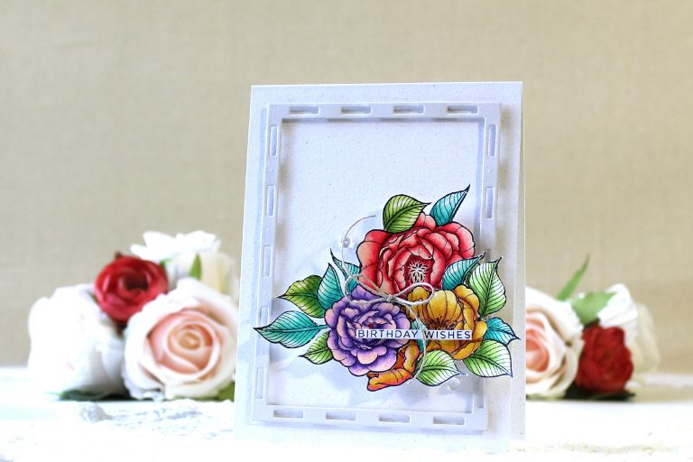 Just Add Color Inspiration | Floral Cards with Yoonsun Hur