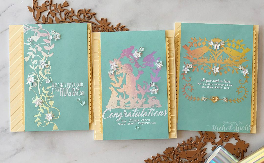 Video: Happy Collection Inspiration | Elegant Glimmer Cards with Nichol Spohr