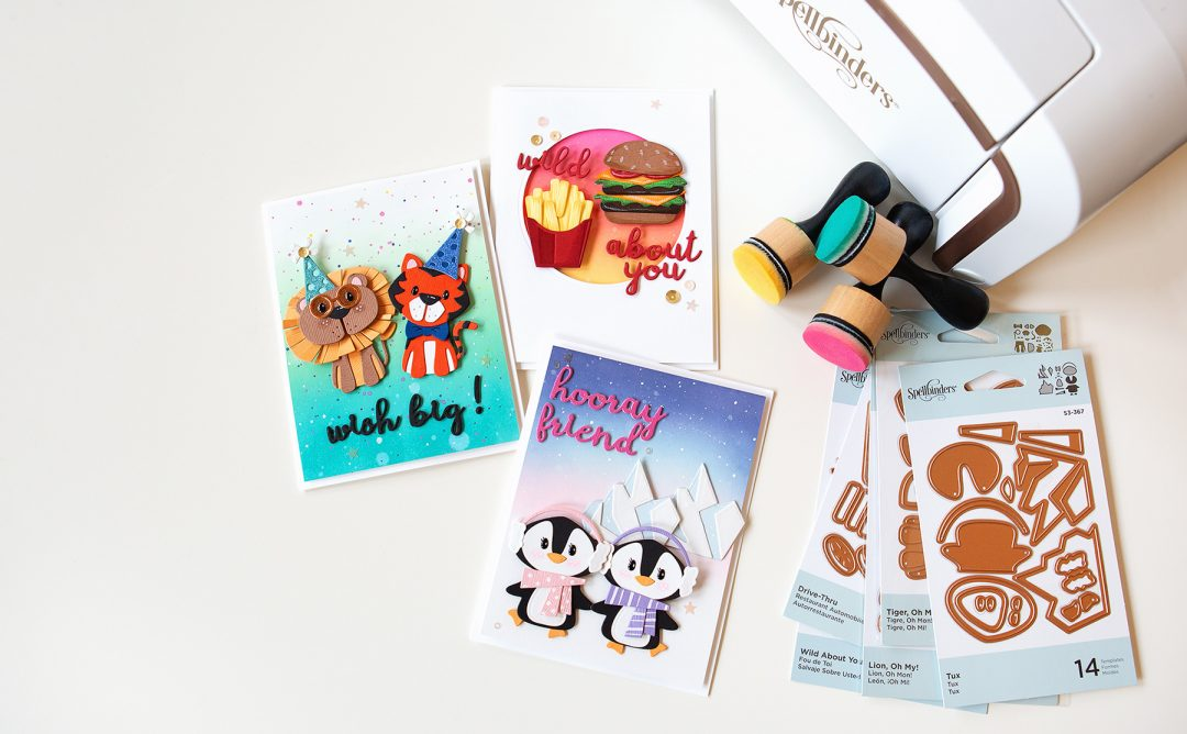 Die D-Lites Inspiration | Trio of Cute Cards with Jung AhSang